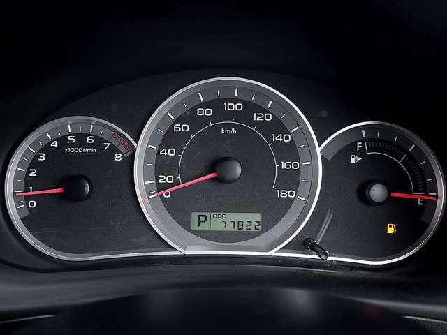 【メーター】現在の走行距離77822kmでございます。