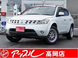 日産 ムラーノ 3.5 350XV FOUR 4WD HDDナビ BBS18AW 本革シート&ヒーター