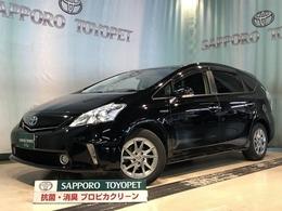 トヨタ プリウスα 1.8 S チューン ブラック SDメモリーナビ