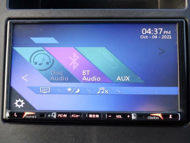 オーディオは、CD・ラジオ・Bluetoothオーディオ機能付!