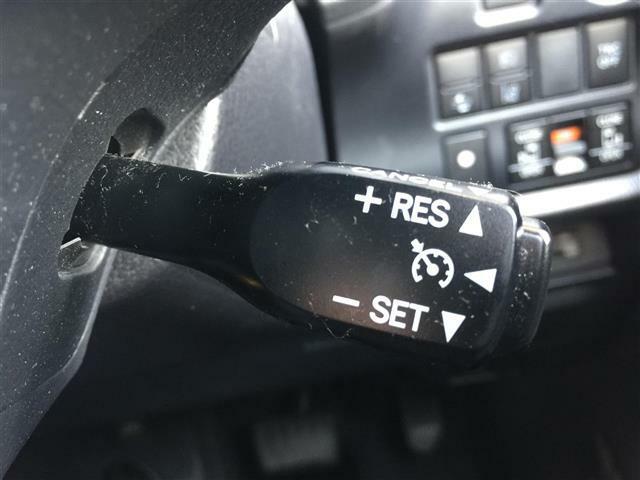 【クルーズコントロール】アクセルを離しても一定速度で走行ができる装備になります。*追従機能はございません。ご注意を!!