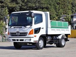 日野自動車 レンジャープロ 4t ダンプ ベッドレス 1方開 BKG-FC7JCYA