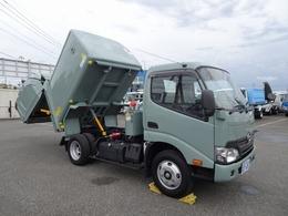 日野自動車 デュトロ 回転ダンプ式パッカー 塵芥車 4.4m3 新明和 汚水タンク付 標準 10尺 2t積み