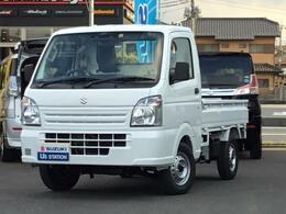 スズキ キャリイ 660 KCエアコン・パワステ スズキ セーフティサポート 装着車 3方開 4WD エアコン・パワステ