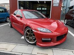 マツダ RX-8 タイプS マツダスピードエアロ 車高調 マフラー