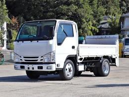 いすゞ エルフ 3t 平ボデー 全低床 4WD PG付 TPG-NKS85AN