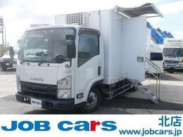 いすゞ エルフ 移動販売車 1.6t 4WD スムーサーEX 冷凍機 保冷ボックス ラック レジ台