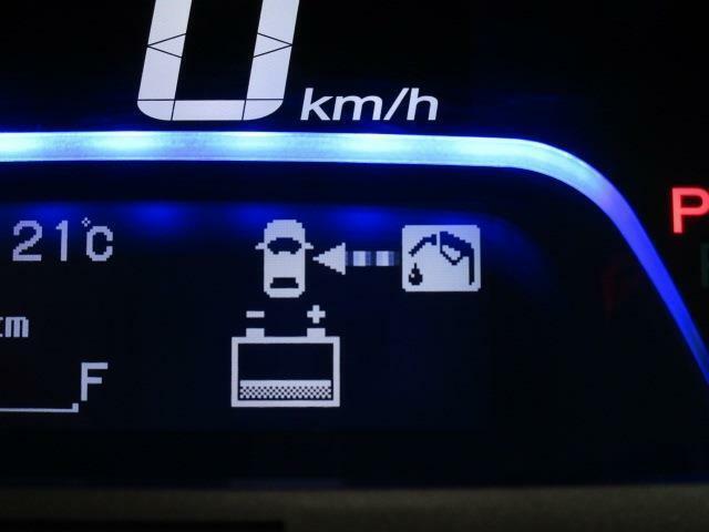 マルチインフォメーションディスプレイは走行に必要なさまざまな情報を表示します!