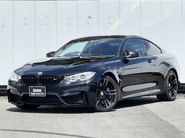 BMW M4クーペ M DCT ドライブロジック サキールオレンジレザー 19インチAW