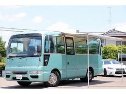 日産 シビリアン ハタナカ製キャンピングカー FF ルーフAC ソーラー オーニング トイレ