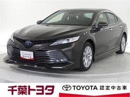 トヨタ カムリ 2.5 G トヨタ認定中古車 予防安全装置装着車