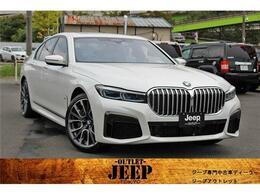 BMW 7シリーズ 745e Mスポーツ ワンオーナー 革 SR ナビ TV 保証継承付き
