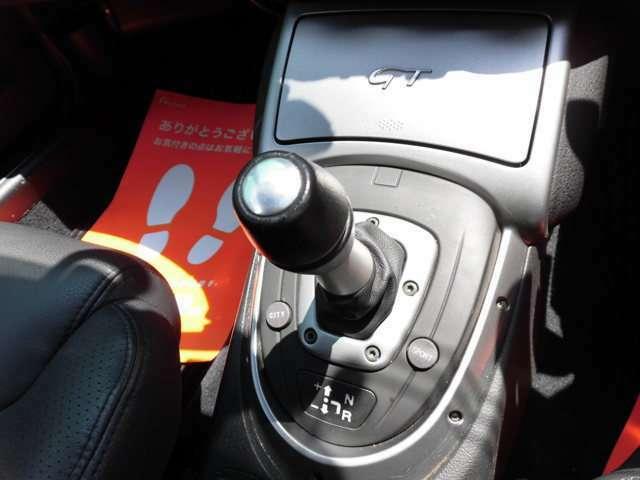 オートマ限定の方でもドライブできるATモード付5速シーケンシャル・トランスミッションのセレスピードを採用しております^^