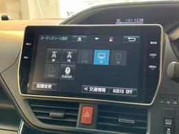 フルセグ内臓の純正10インチナビ搭載。DVD再生、Bluetoothも対応可能です。