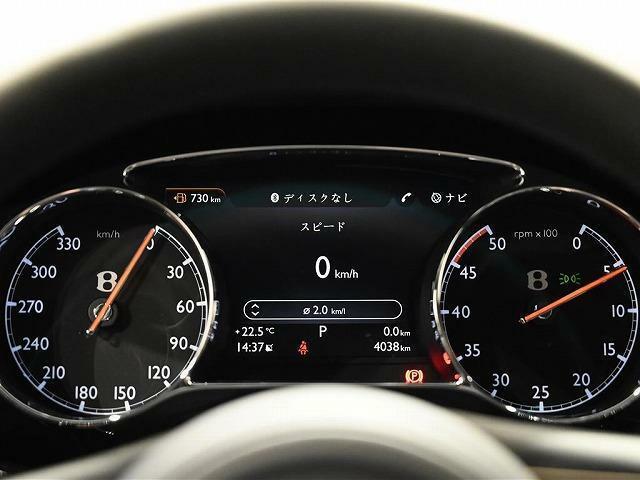 走行距離4038km。保証および車検は2023年2月まで残っています。