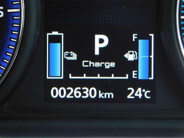 走行は2630kmです。バッテリー容量は95.7%