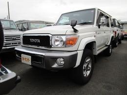 トヨタ ランドクルーザー70 4.0 4WD 30thアニバーサリー メモリーナビ