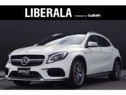 メルセデスAMG GLAクラス GLA 45 4マチック 4WD 黒革 サンルーフ レーダーSFT