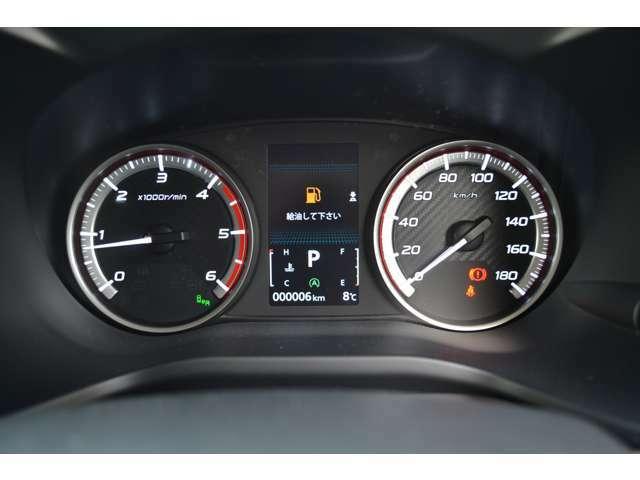 多彩な車両情報を表示。ハイコントラストメーター&マルチインフォメーションディスプレイ。