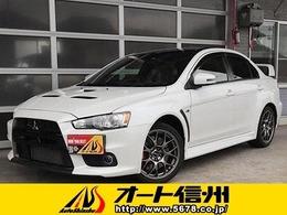 三菱 ランサーエボリューション 2.0 ファイナルエディション 4WD ブラックルーフ