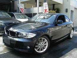 BMW 1シリーズクーペ 120i Mスポーツパッケージ 直噴エンジン ハーフレザーシート