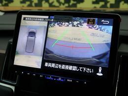 バックモニター、360度カメラも装備しております!大柄なボディでも安心ですね!