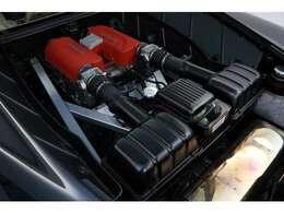 3.6L V型8気筒DOHC、400ps/38.0kgm