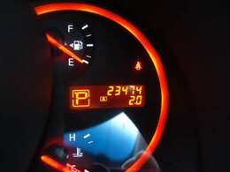 走行距離23474kmです。