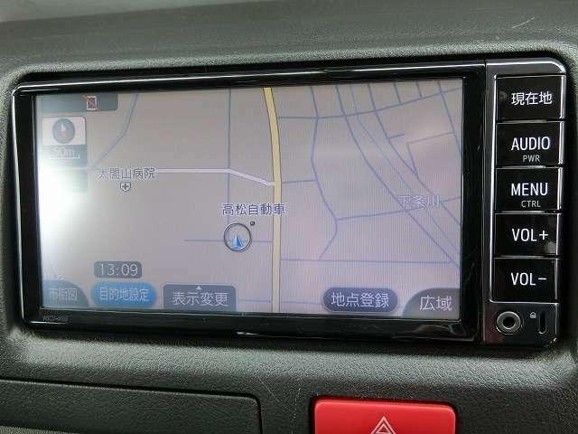 地デジナビTV(Bluetooth対応)(¥95,000)付き