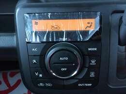 オートエアコンなので温度設定だけで車内温度を一定に保つので便利です♪