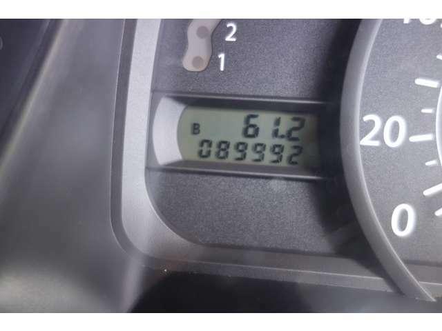 走行距離は、89,992Km!