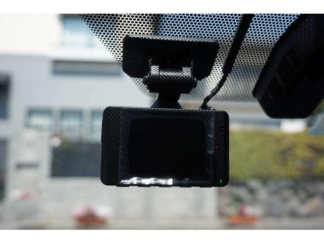 前方ドライブレコーダーを装着しておりますので、万が一の際も安心です♪