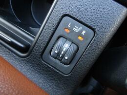■ 装備4 ■ シートヒーター:エアコンより早く暖まります!冬の必須装備です!
