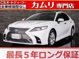 トヨタ カムリ 2.5 G サンルーフ/禁煙/新品スピンドルフェイス