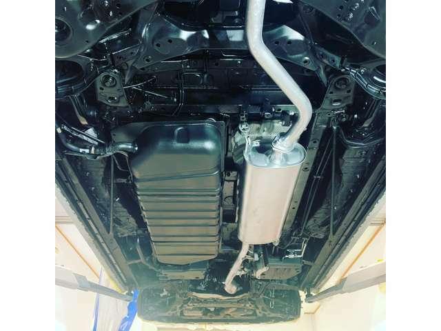 Bプラン画像:下回りシャシ部分のサビをガード!!下回りシャシ部分は水・泥・凍結防止剤に直接さらされ、サビが発生しやすいです!大切な愛車を長持ちさせるためにいかがですか?
