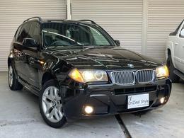 BMW X3 2.5si MスポーツパッケージI (スポーツ・サスペンション) 4WD 4WD HDDナビ 純正アルミ