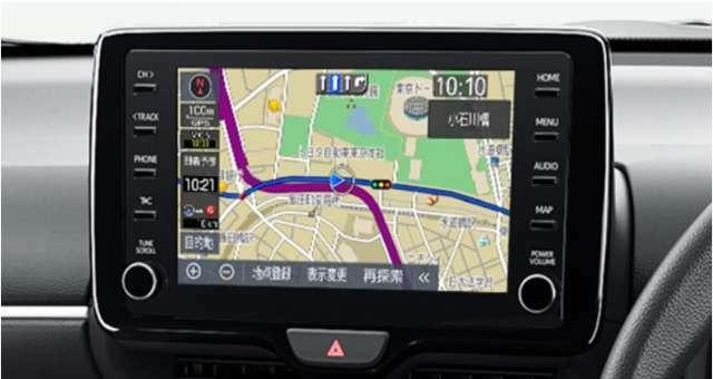 スマイルセットNo.1 【純正エントリーナビ】トヨタ車ディスプレイオーディオ用の純正オプションのエントリーナビをご用意致します。