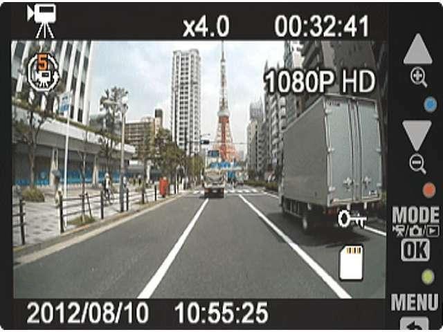 Bプラン画像:国産メーカーの2カメラタイプを装着いたします。配線は内部結線で見ないカスタムフィッテイングです