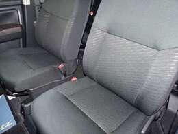 フロントシートです。 シートを外しての室内クリーニングで内装もピカピカです♪
