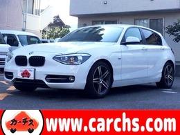 BMW 1シリーズ 120i スポーツ 純正オーディオ/Bミラー一体型ETC/保証付