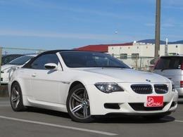 BMW M6 カブリオレ 5.0 ナビ Bカメラ 赤革 HUD パドルシフト
