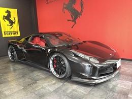 フェラーリ 458イタリア F1 DCT 正規D/社外AW/社外中間マフラ-/社外エアロ