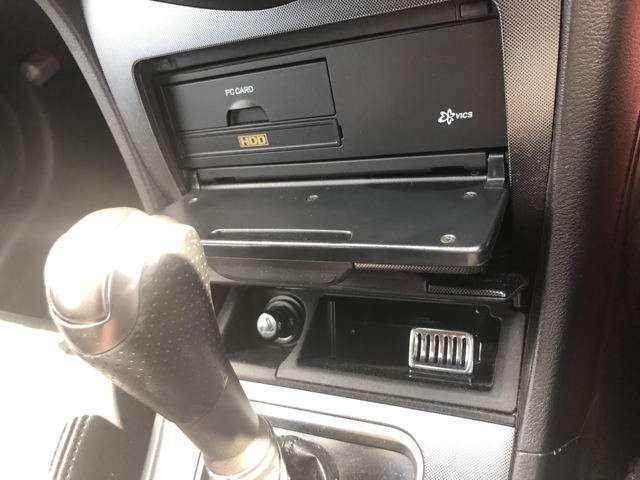HDD差し込み口、シガーソケット各々収納されてるので見た目もスッキリ!