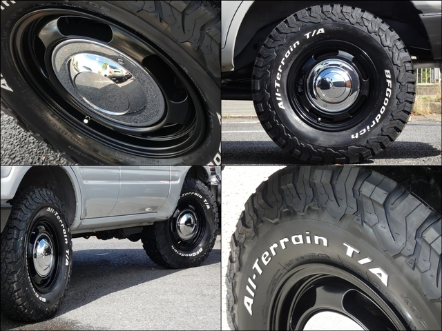 新品FD-classic16インチアルミ&新品BFグッドリッチATタイヤセット!