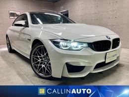 BMW M4クーペ コンペティション M DCT ドライブロジック アダプティブMサスペンション HUD
