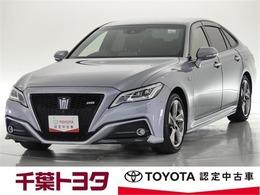 トヨタ クラウン ハイブリッド 3.5 RS アドバンス 予防安全装備/タイヤ4本新品交換