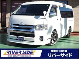 トヨタ ハイエース 2.7 GL ロング ミドルルーフ ツインナビ 電動スライド LEDライト