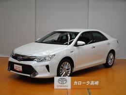 トヨタ カムリハイブリッド 2.5 Gパッケージ Tコネクトナビ フTV 電動シート ETC