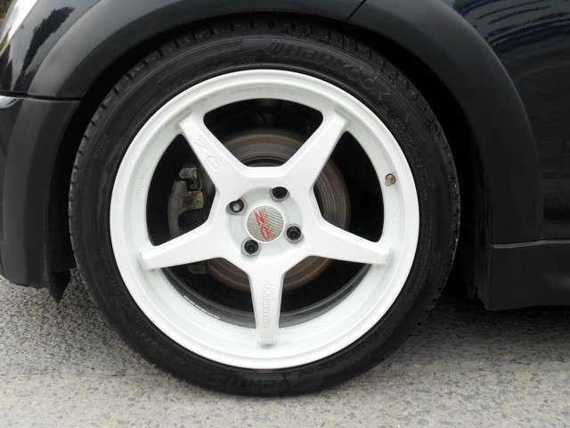 OZ17AW(美品) 新品タイヤ4本付きです。