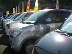 お手頃な軽自動車からミニバンまで、数多く取りそろえております!お手頃な車をお探しの方は、特にご相談下さい!!